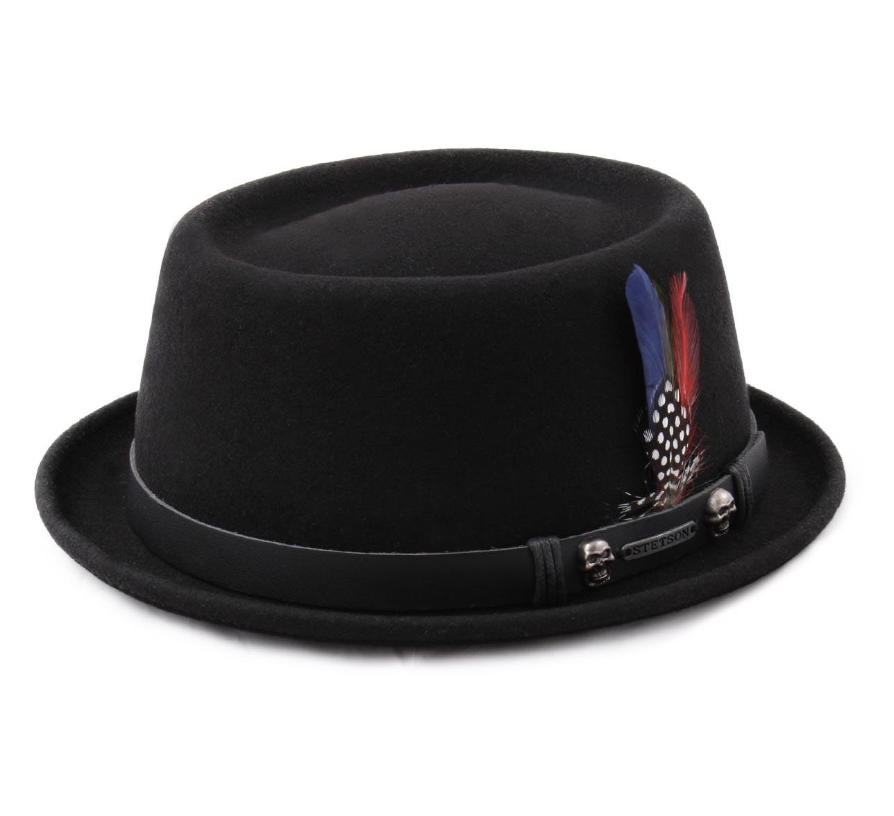 e81e2a89120 Pork Pie Woolfelt - Hats Stetson
