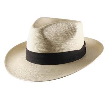 Classic Italy Banes Fedora Hat Size 62 cm 89-Burgundy